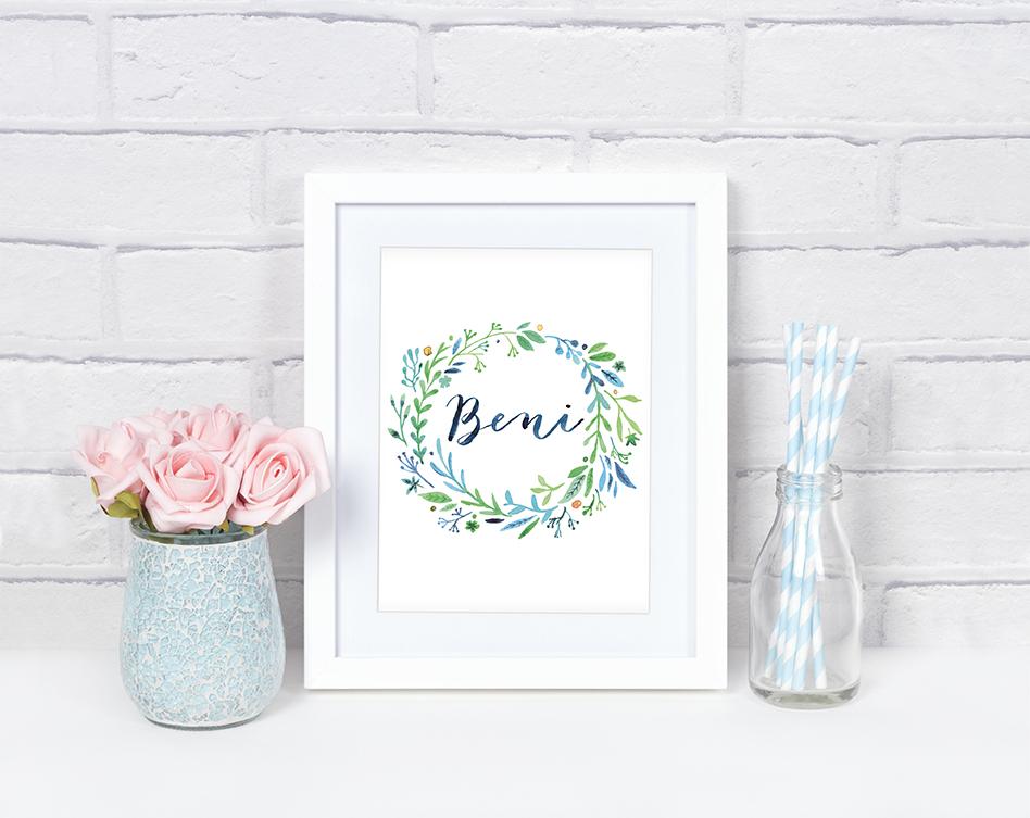 WonderWall Design Floral Prints
